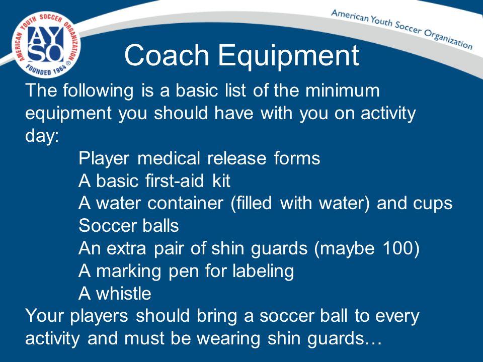 Coach Equipment