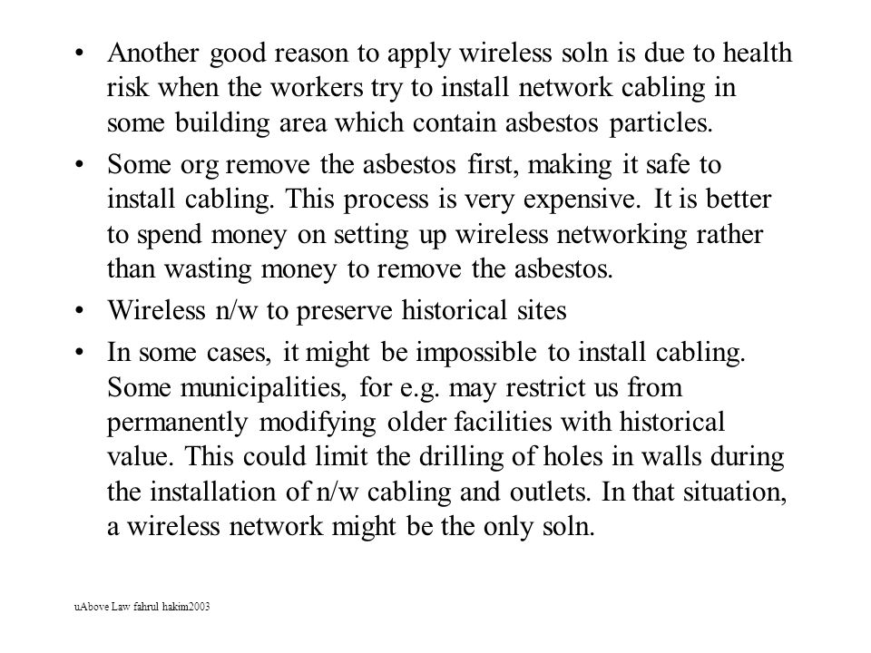 Wireless n/w to preserve historical sites