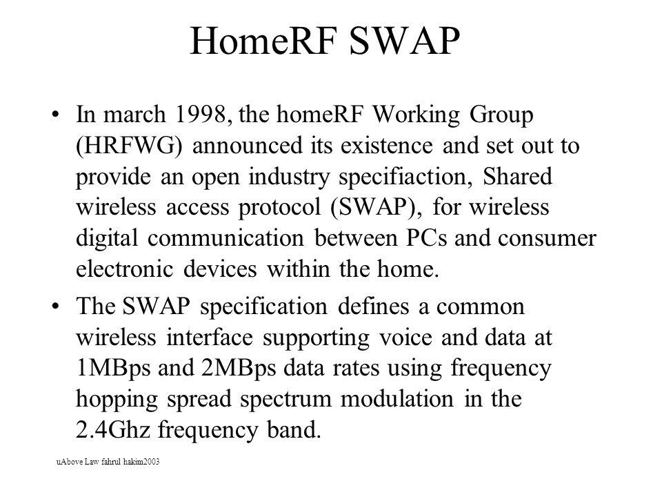 HomeRF SWAP