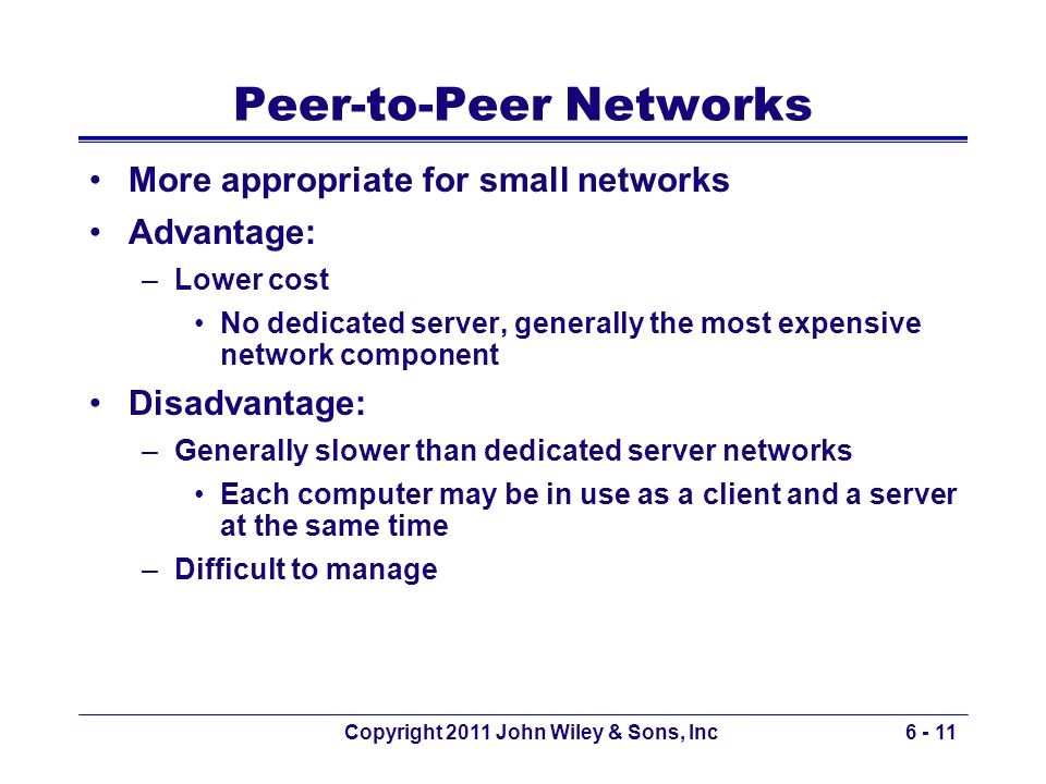 Peer-to-Peer Networks