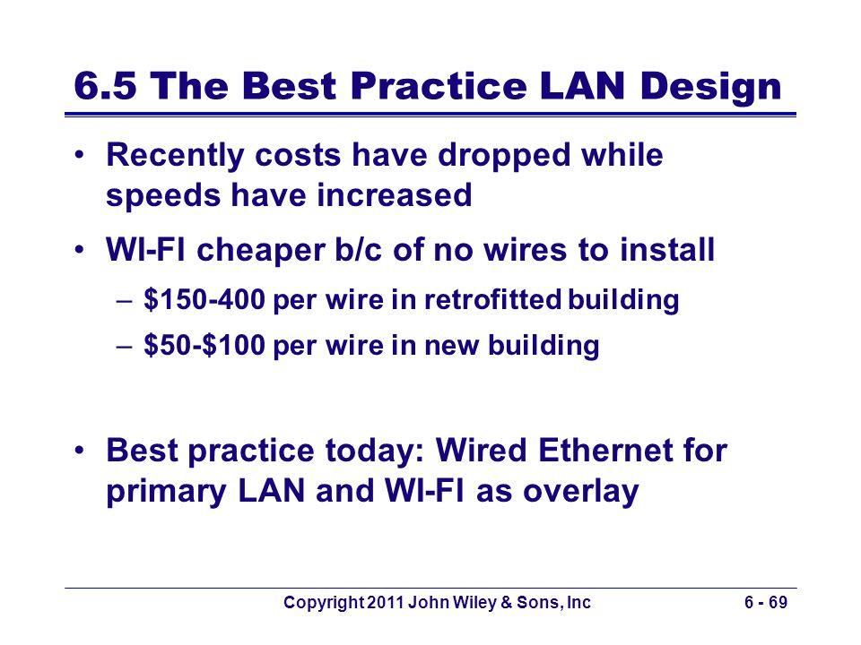 6.5 The Best Practice LAN Design