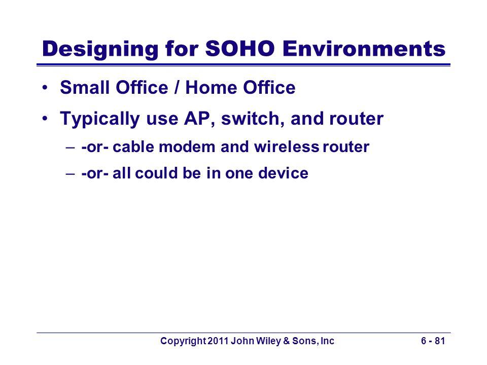 Designing for SOHO Environments