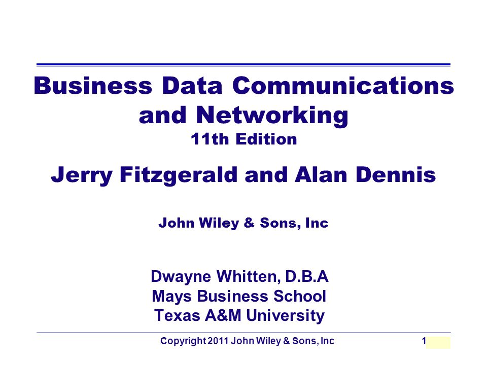 business data communications and networking 11th edition Jerry fitzgerald is the author of 'business data communications and networking', published 2011 under isbn 9781118086834 and isbn 111808683x.