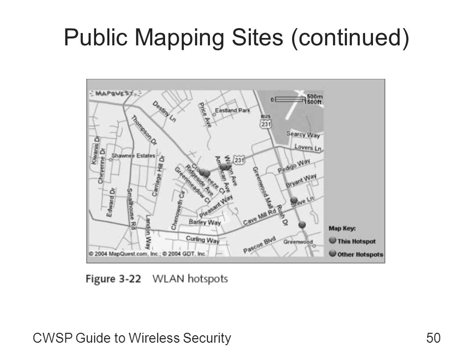 Public Mapping Sites (continued)
