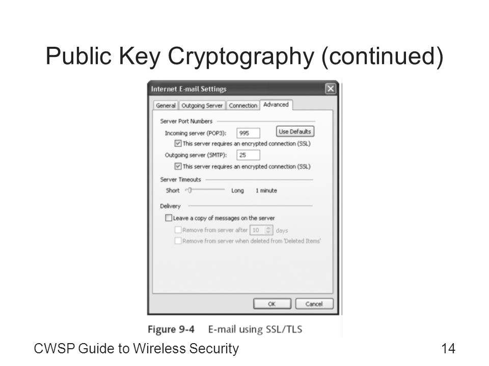 Public Key Cryptography (continued)