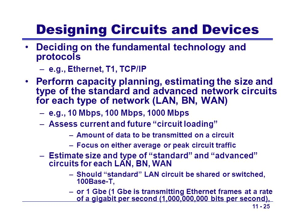 Designing Circuits and Devices