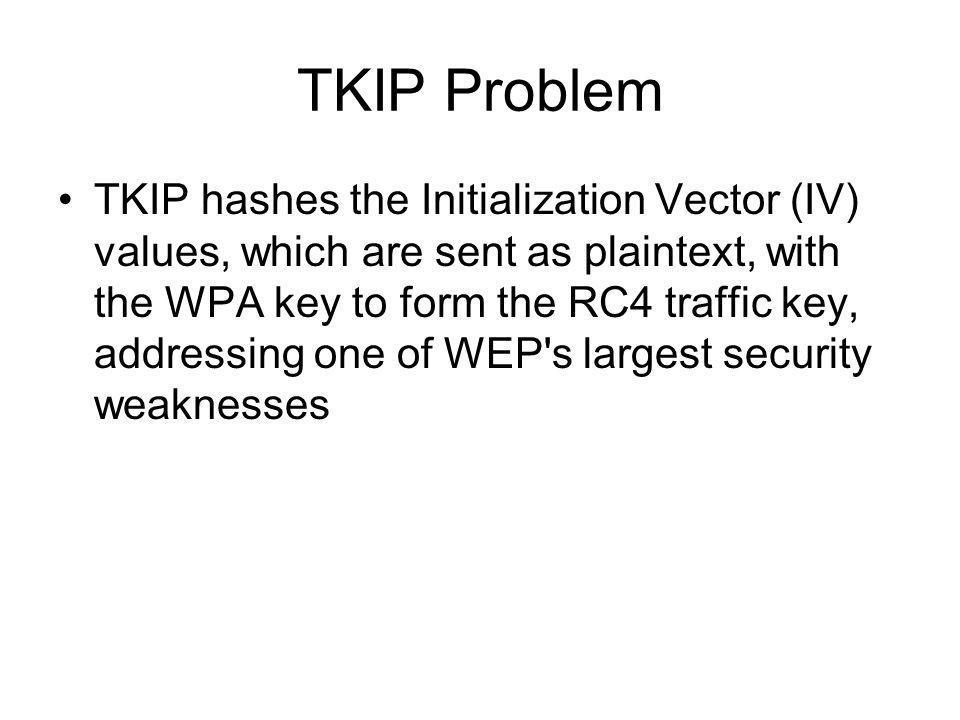 TKIP Problem