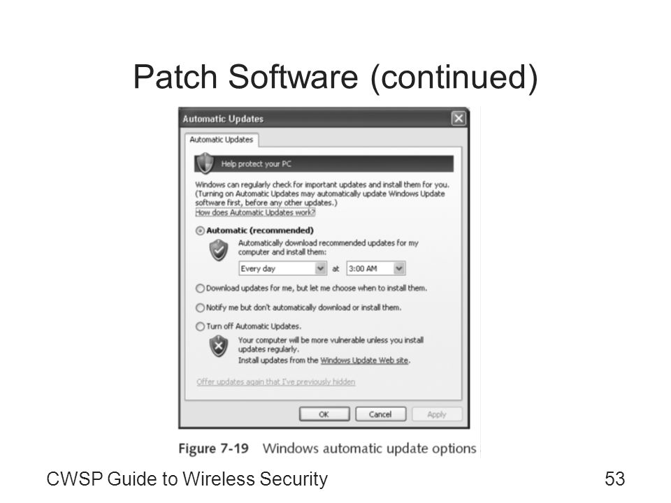 Patch Software (continued)