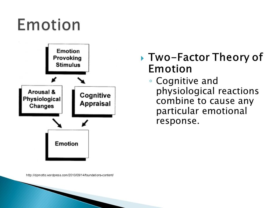 Emotion Two-Factor Theory of Emotion