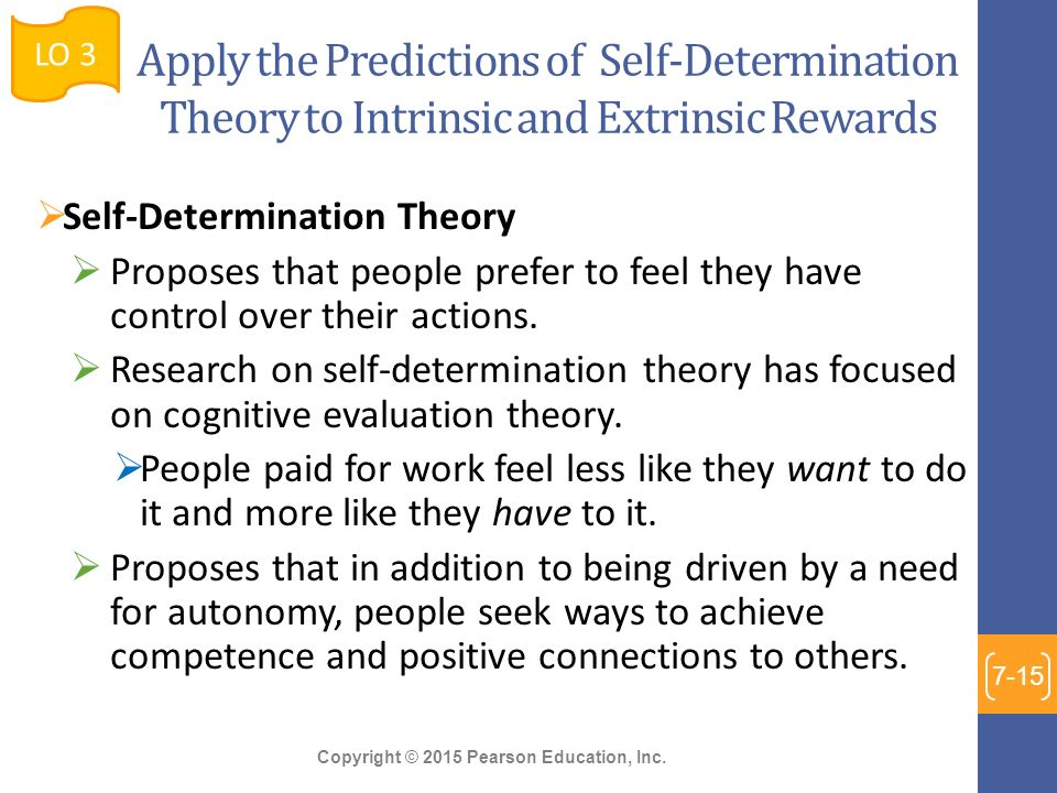 motivation theories that apply to the