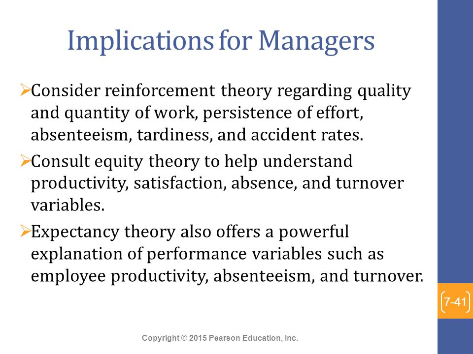 managing absenteeism theories in ob View organizationalbehavior-110209013753-phpapp02 from  effectiveness ob theories have  effective employees absenteeism turnover.