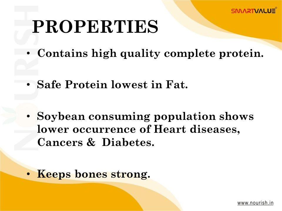 PROPERTIES Contains high quality complete protein.
