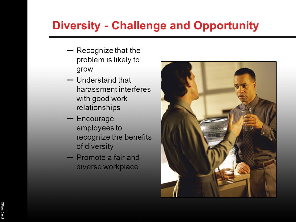 Diversity - Challenge and Opportunity