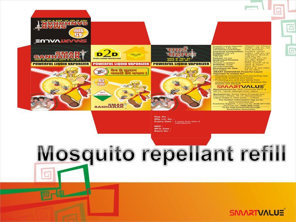 Mosquito repellant refill