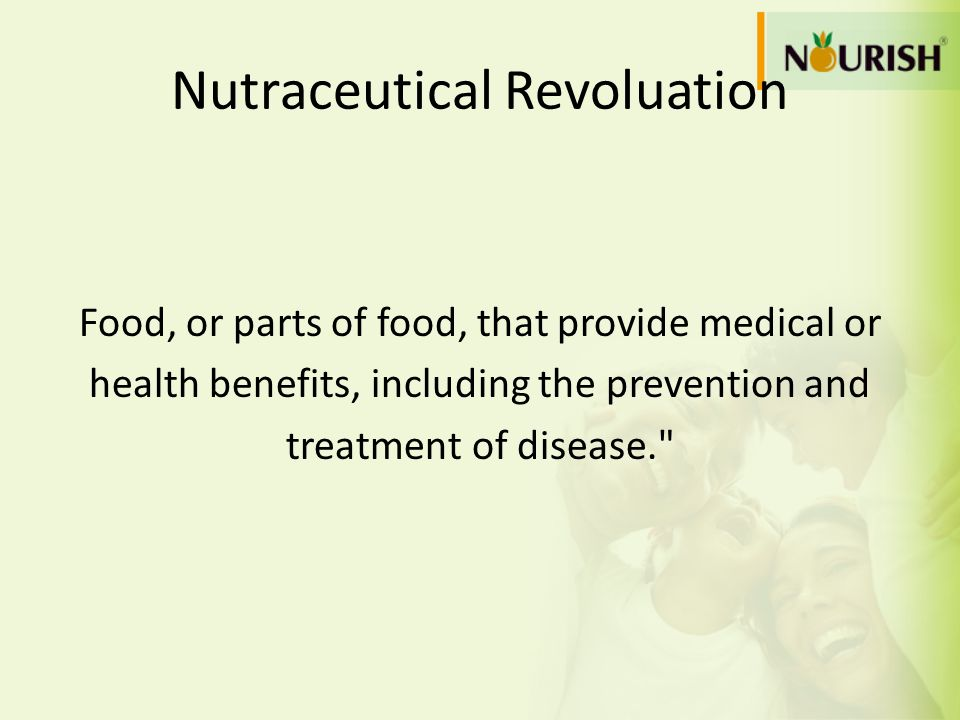 Nutraceutical Revoluation