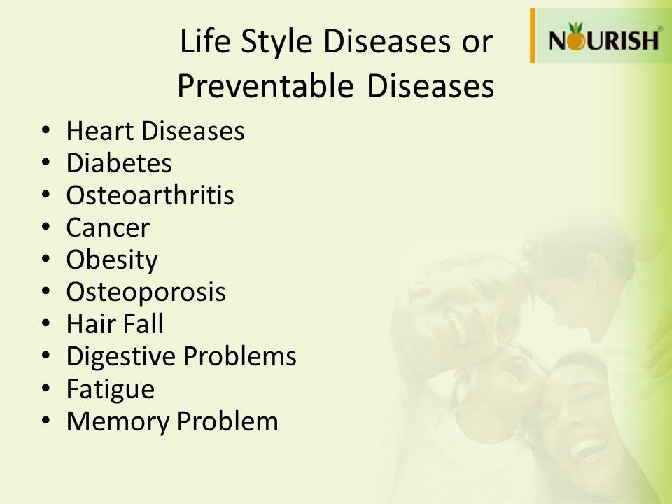 Life Style Diseases or Preventable Diseases
