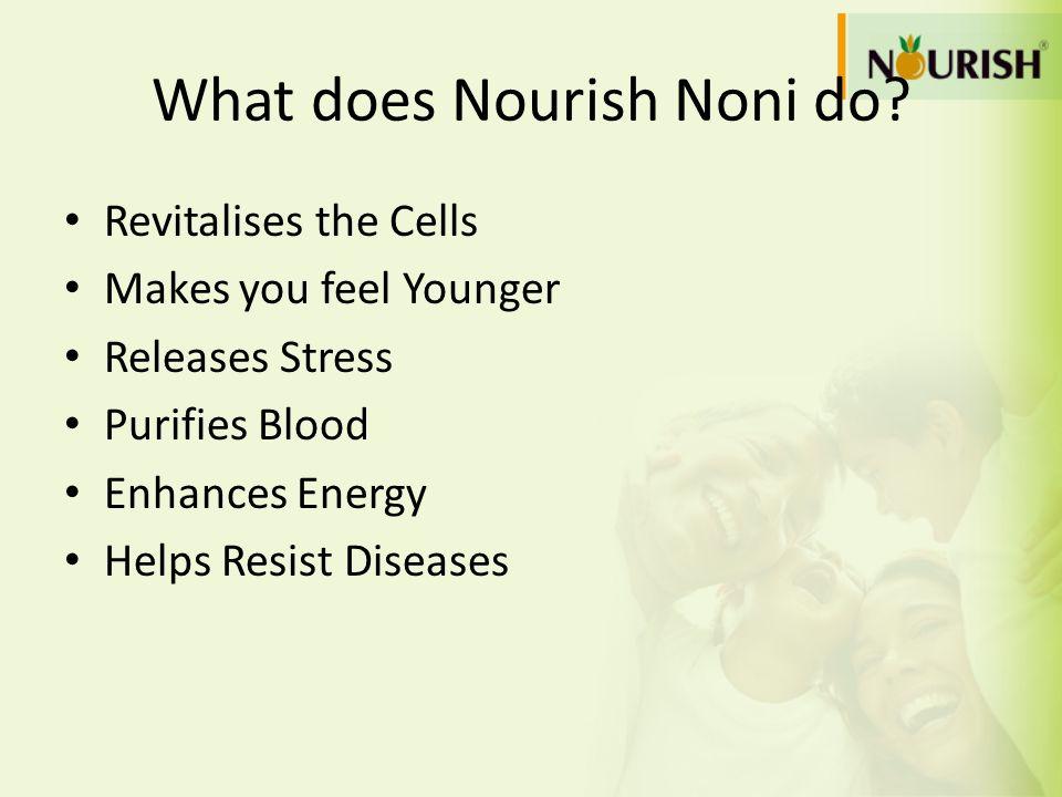 What does Nourish Noni do