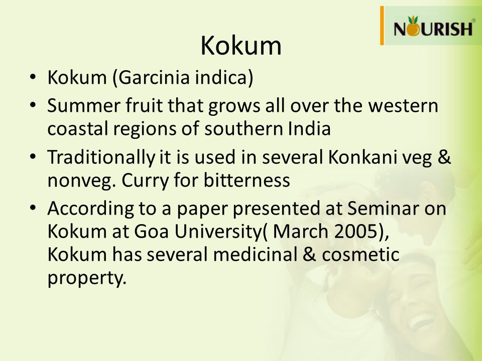 Kokum Kokum (Garcinia indica)