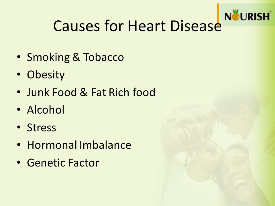 Causes for Heart Disease