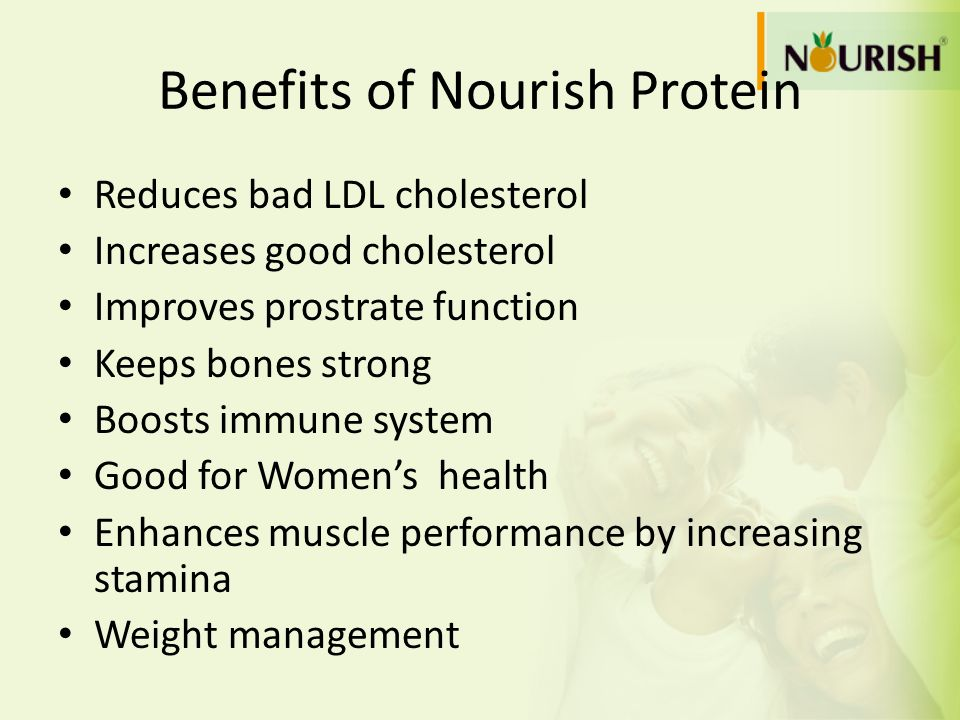 Benefits of Nourish Protein