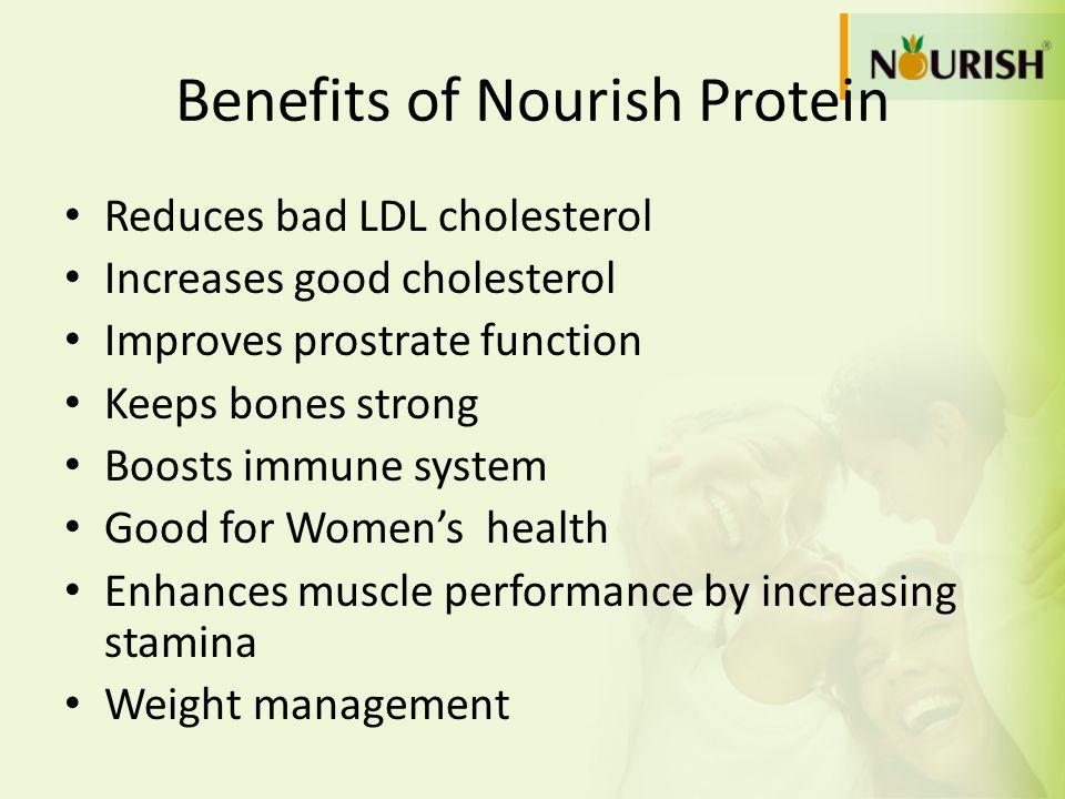 Benefits of Nourish Protein