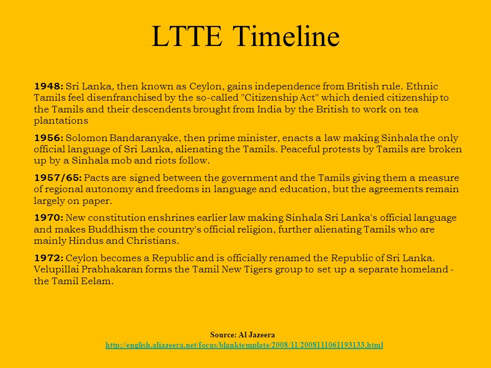 tamil tigers research paper Tamil eelam (tamil:  official status or recognition by world states though sections of the eelam were under de facto control of the liberation tigers of tamil.