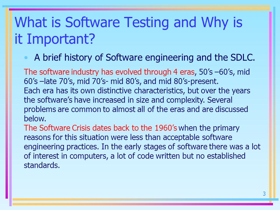 What is Software Testing and Why is it Important