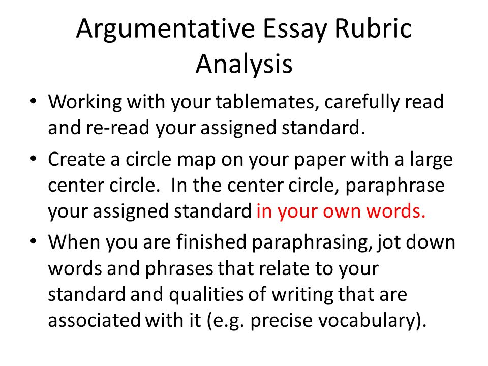 argumentative essay parents