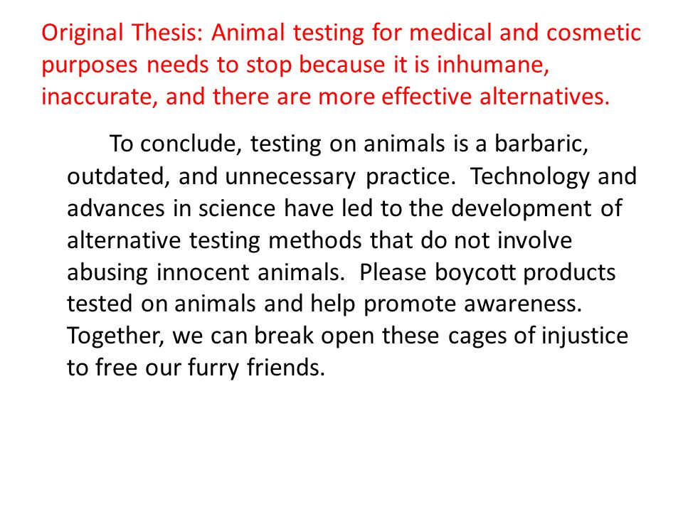 Animal Testing – Necessary or Barbaric and Wrong? Essay Sample