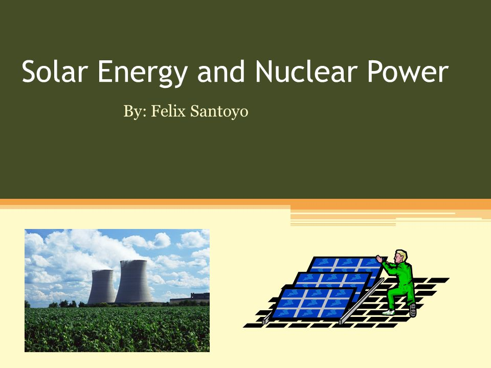 is nuclear power an sustainable energy
