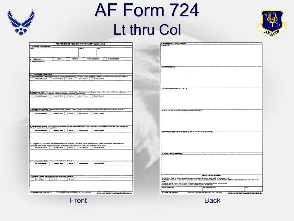 Af Form 724 Utan Shinestar Co