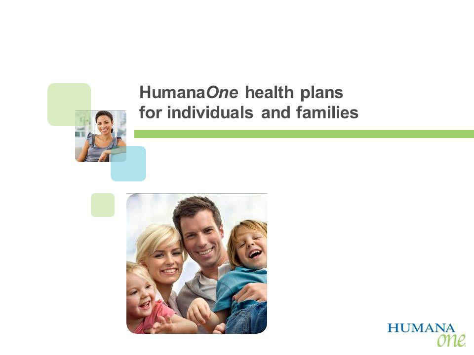 HumanaOne health plans for individuals and families