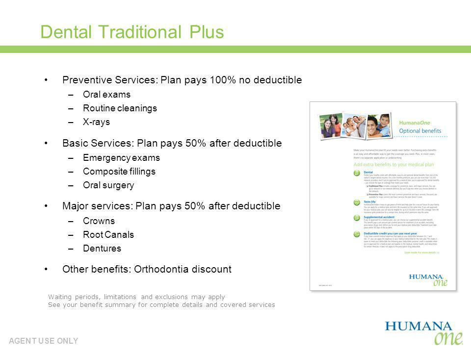 Dental Traditional Plus
