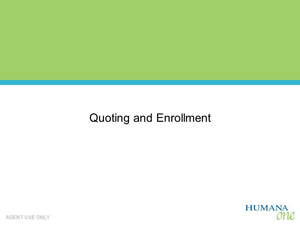 Quoting and Enrollment