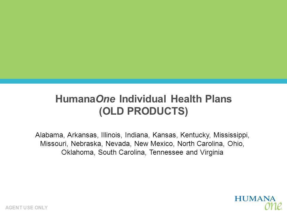 HumanaOne Individual Health Plans