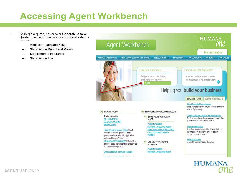 Accessing Agent Workbench