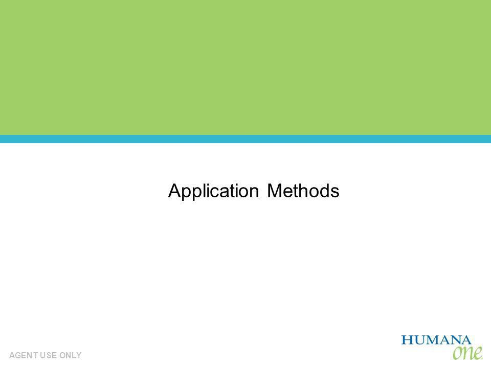 Application Methods 48 48