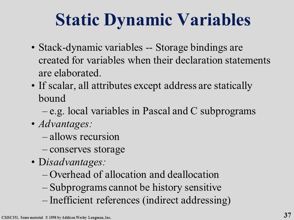 static and dynamic type checking pdf