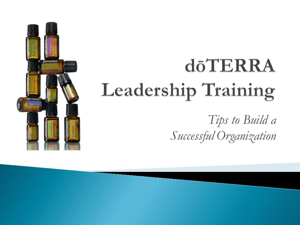 dōTERRA Leadership Training