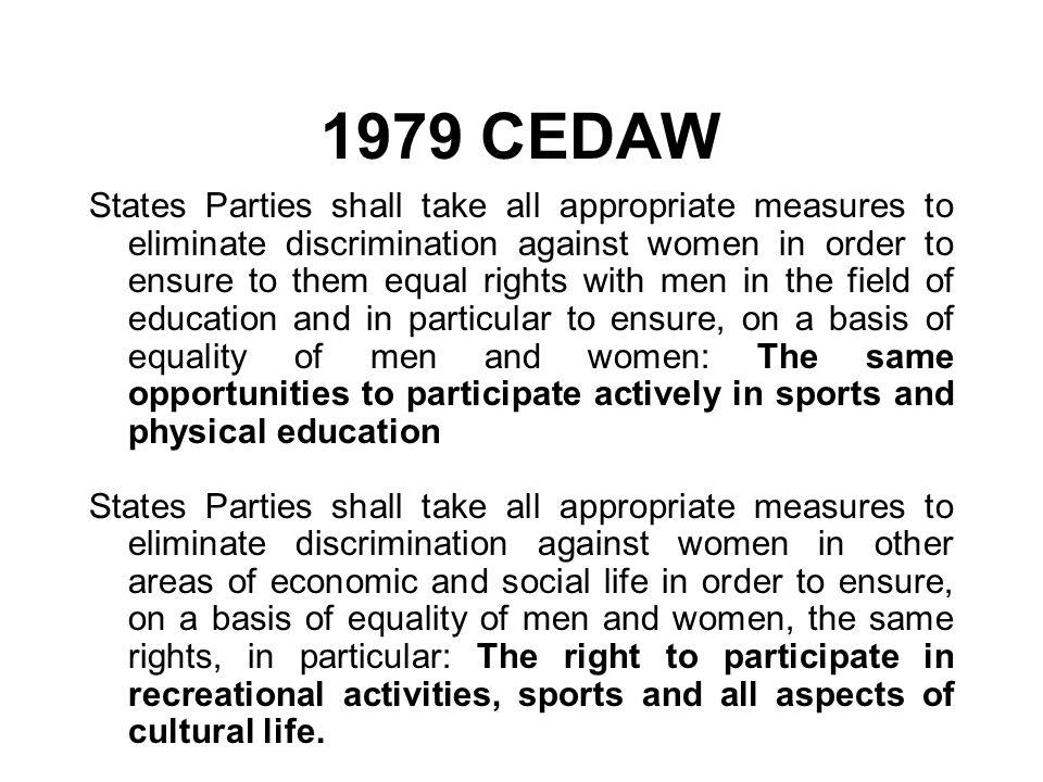 1979 CEDAW