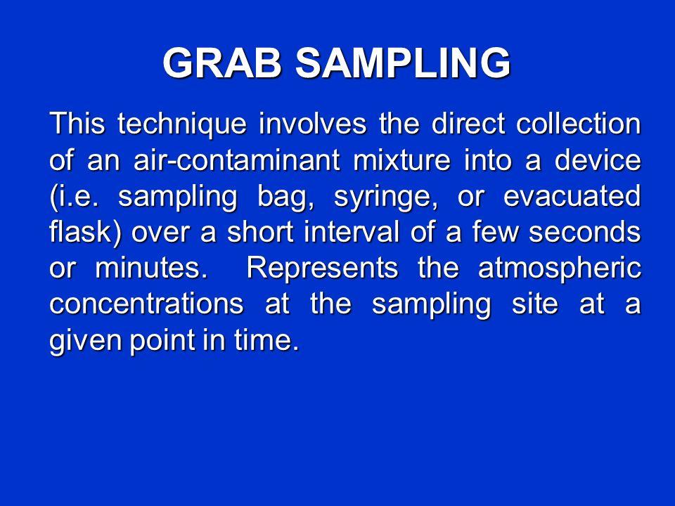 GRAB SAMPLING