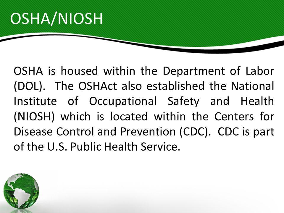 OSHA/NIOSH