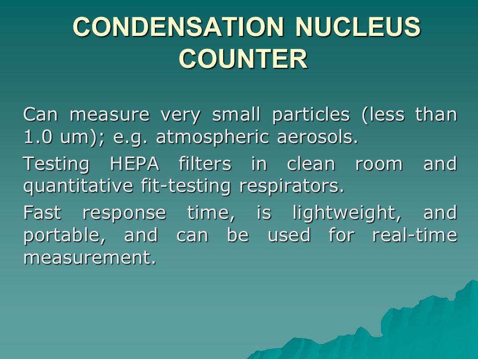 CONDENSATION NUCLEUS COUNTER