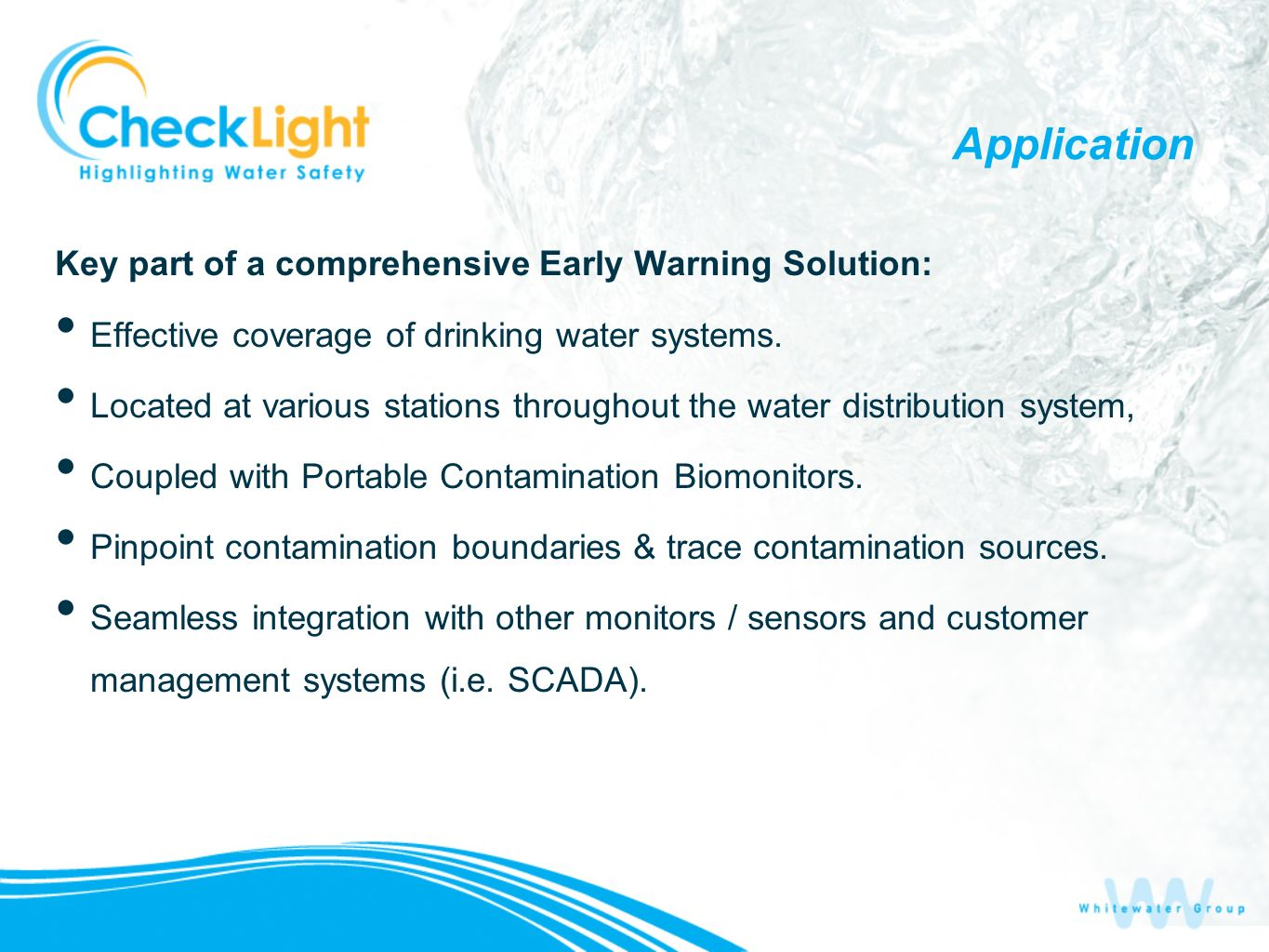 Application Key part of a comprehensive Early Warning Solution: