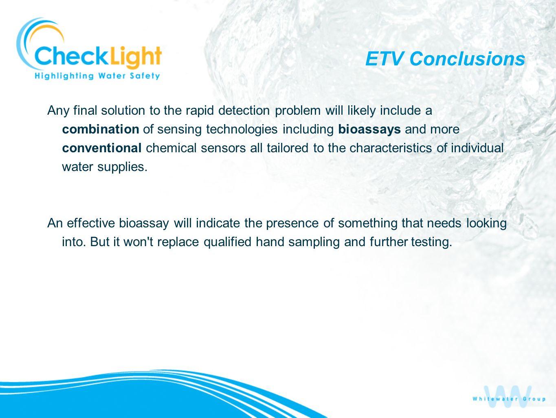 ETV Conclusions