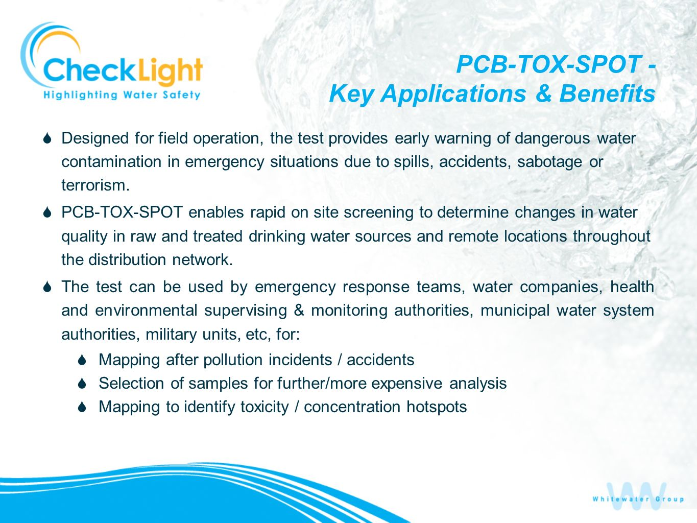 PCB-TOX-SPOT - Key Applications & Benefits