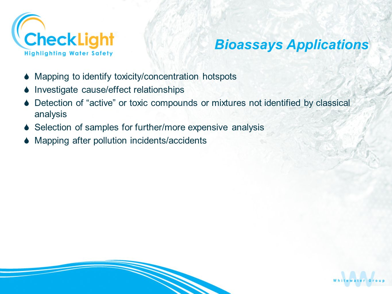 Bioassays Applications