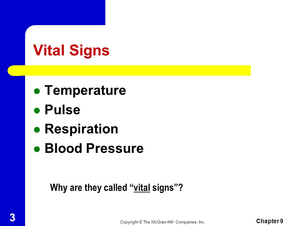 vital signs why are they important pdf