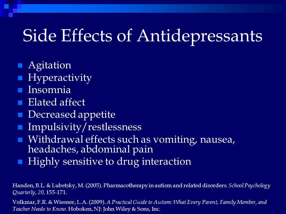 Prozac Withdrawl Side Effects