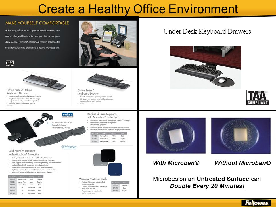 Create a Healthy Office Environment